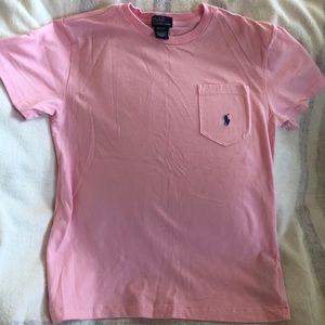 Polo by Ralph Lauren T-shirt, looks new, M(12-14)